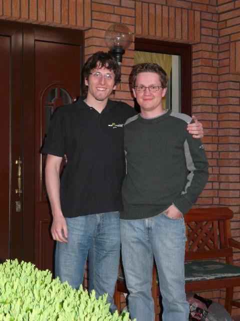 Stefan Fetzner und Viktor Janke