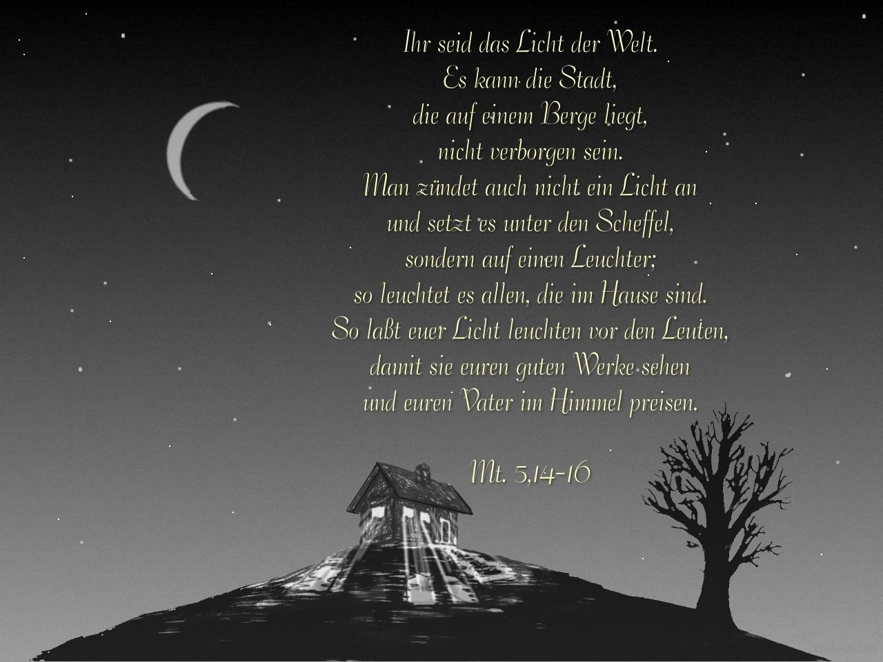 Matthäus 5 14-16
