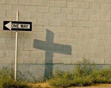 Nur ein Weg