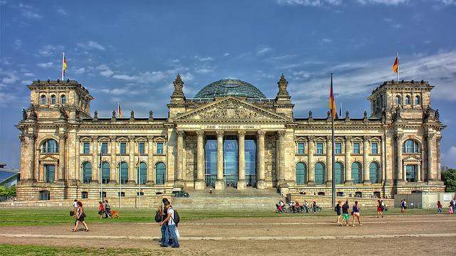 Reichstag Politik Christen