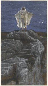 Jesus als Vorbild für die geistliche Übung Stille und Einsamkeit