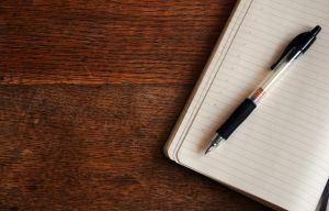 Wie man sich Notizen bei der Predigt machen sollte