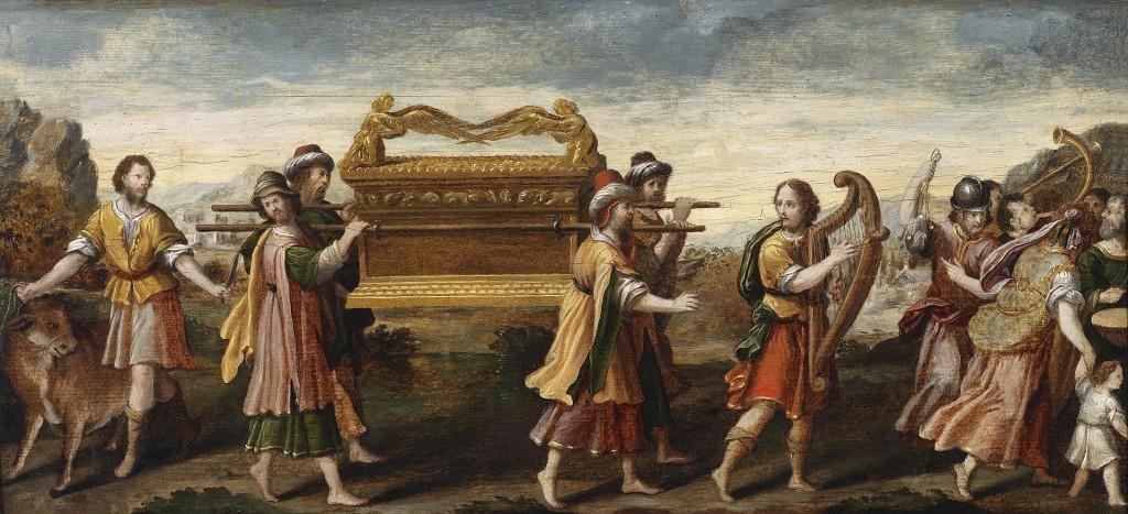 Davids erneuter Versuch die Bundeslade nach Jerusalem zu holen