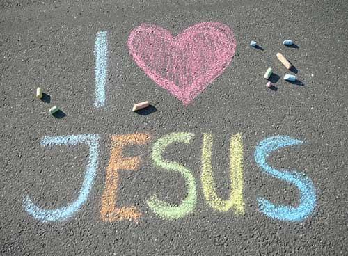 Ich liebe Jesus