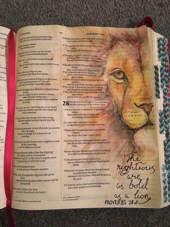 Bibelverse malen